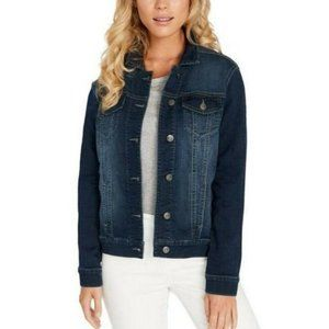 Buffalo David Bitton Women's Knit Denim Jacket S